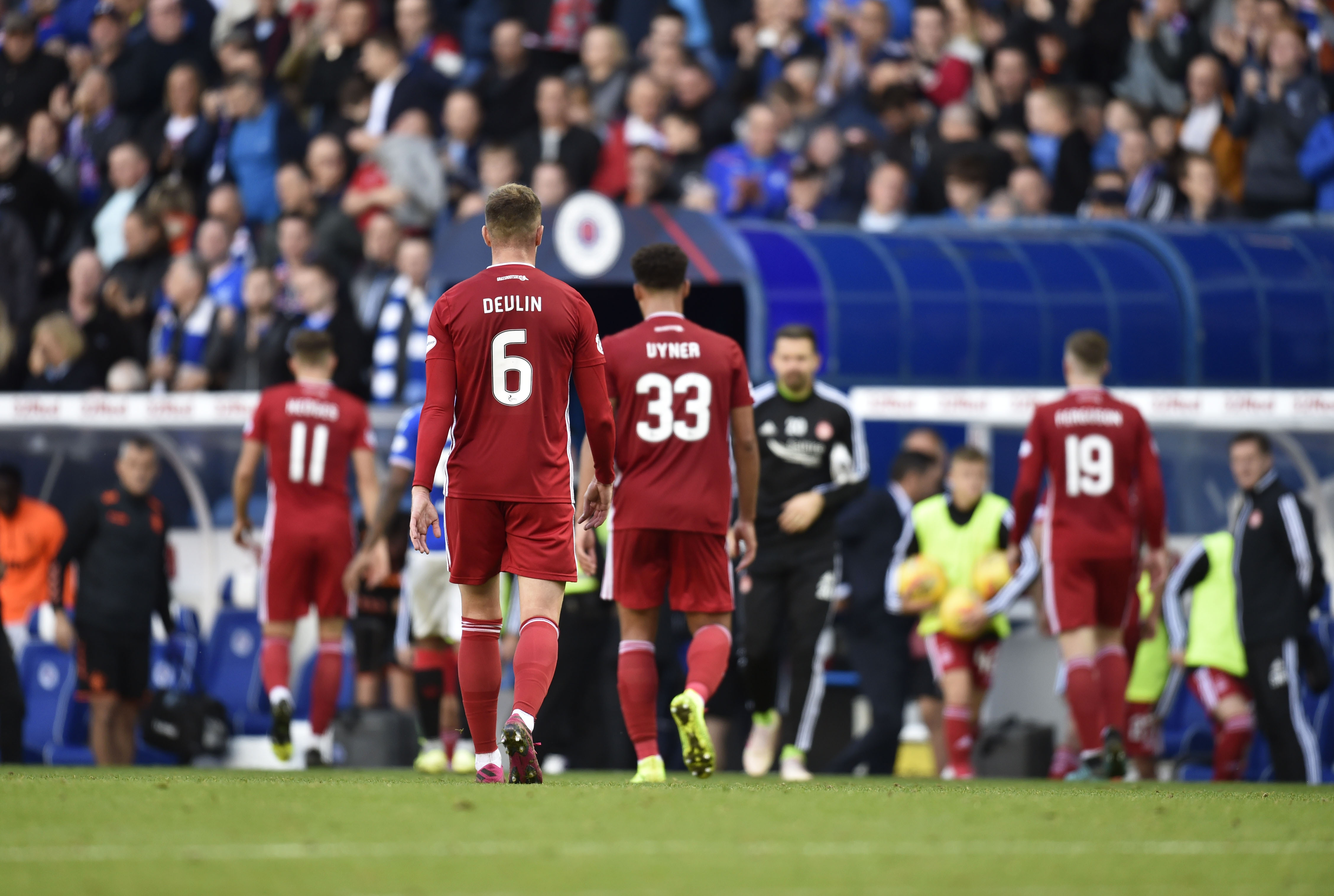 McInnes felt his side were lacking in experience and personality against Rangers.