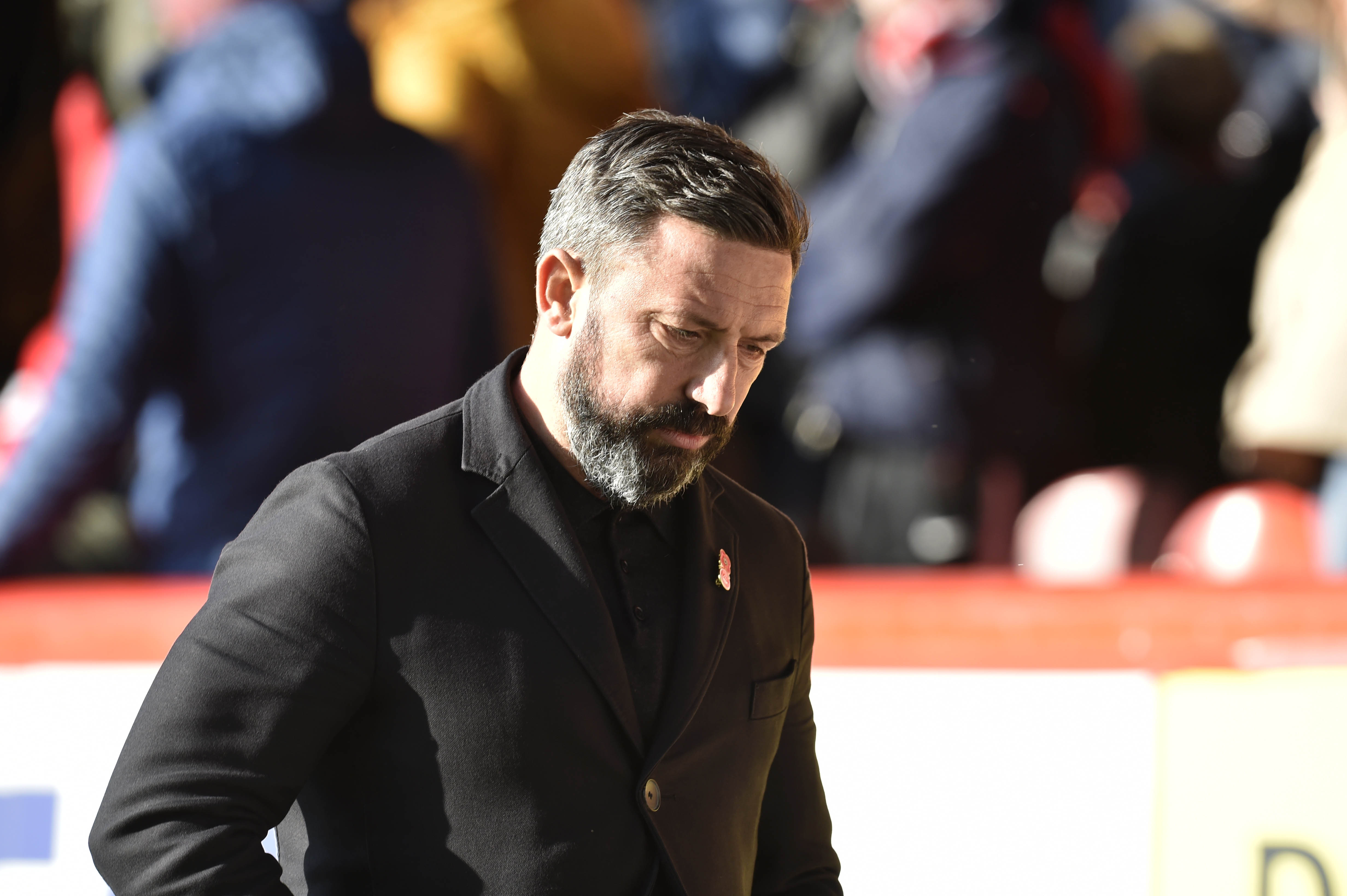 Derek McInnes was critical of his players after their 4-0 humbling against Celtic.