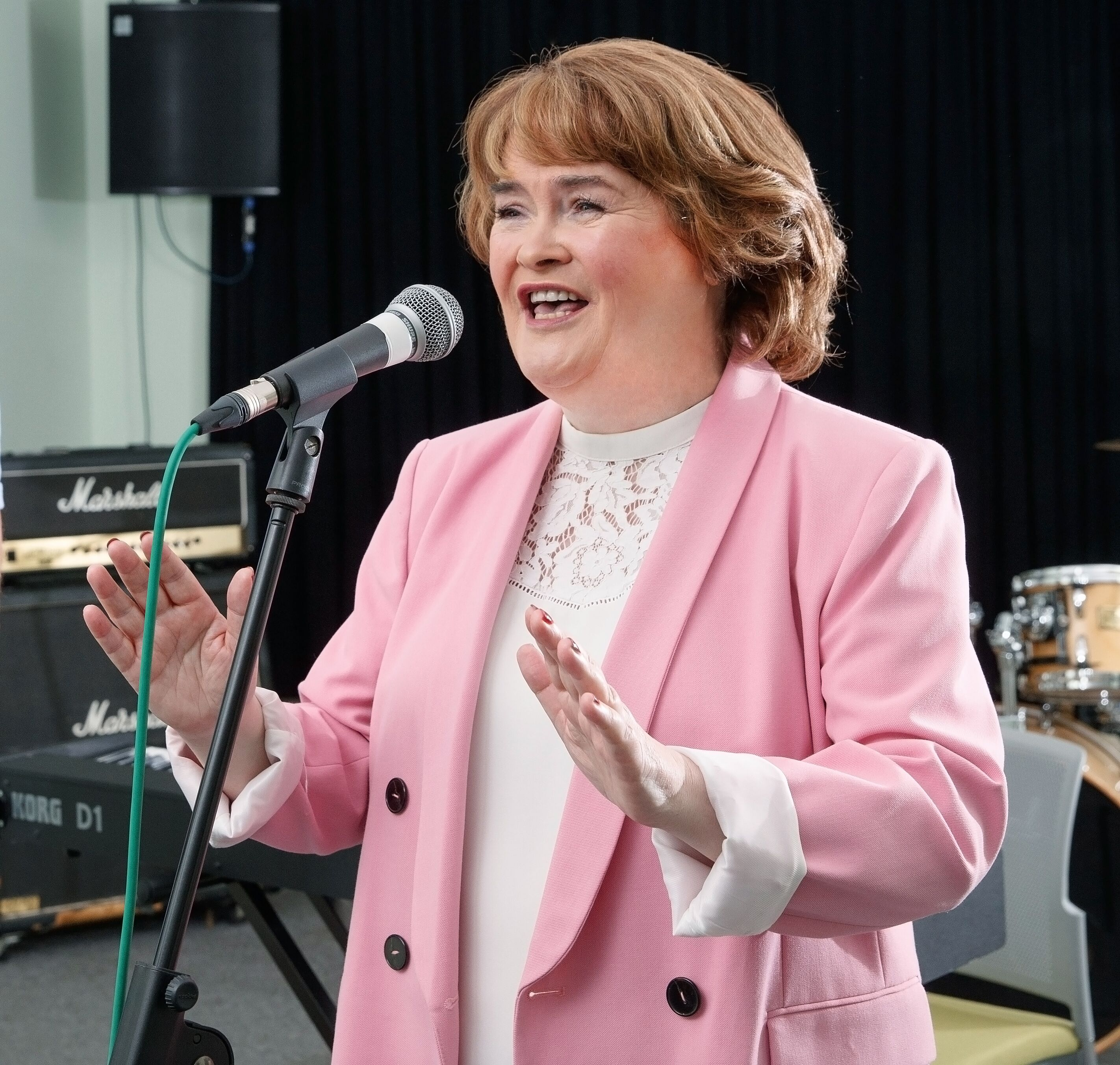 Susan Boyle is embarking on a new tour. Pic: Steve Walsh.