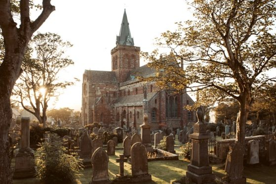 St Magnus Cathedral, Kirkwall. Picture: Destination Orkney