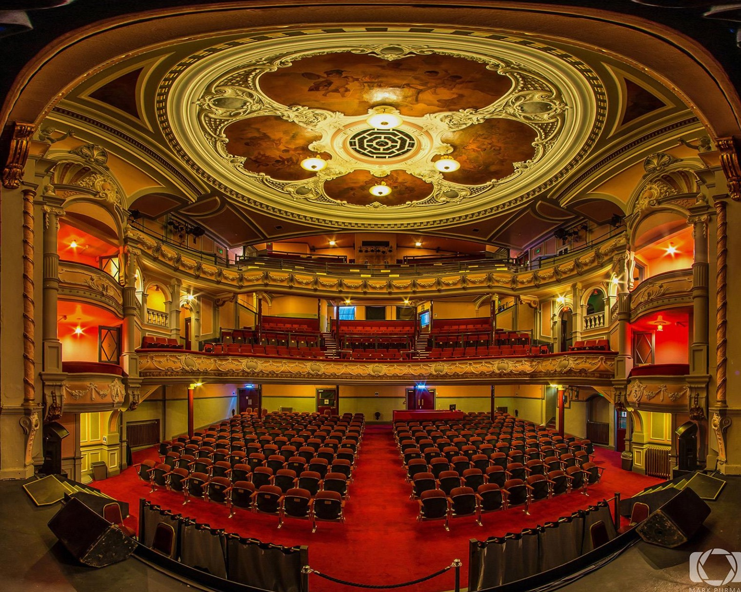 The Tivoli Theatre is one of Scotland's most famous venues.