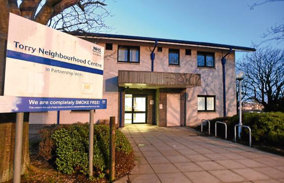 Oscar Road Health Centre Torry 21/2/18