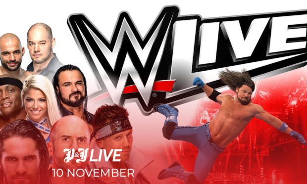 WWE Live at the P&J Live