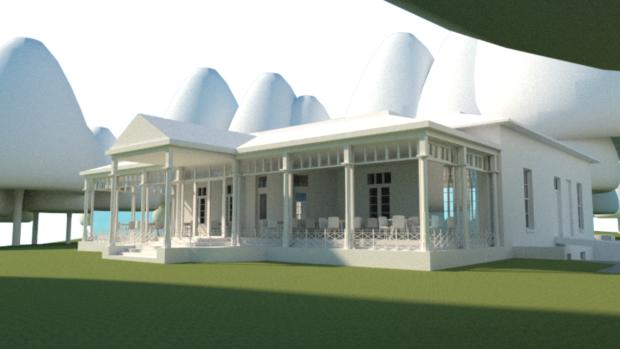 Artist impression of Westburn house