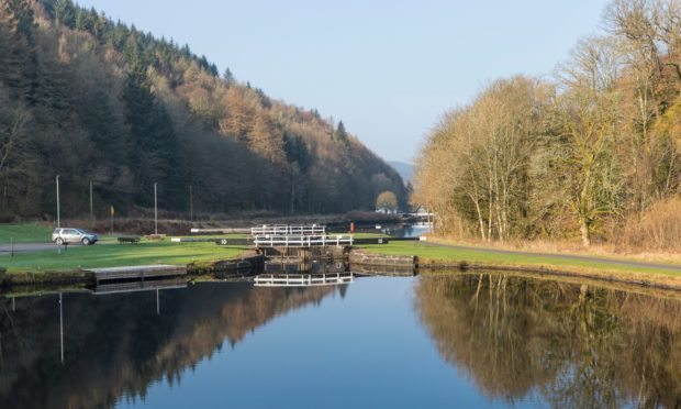 Crinan Canal in Argyll and Bute is operated by Scottish Canals