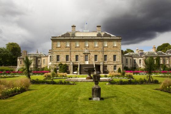 Hi, Picture of Haddo House. John Chapman, Aberdeen