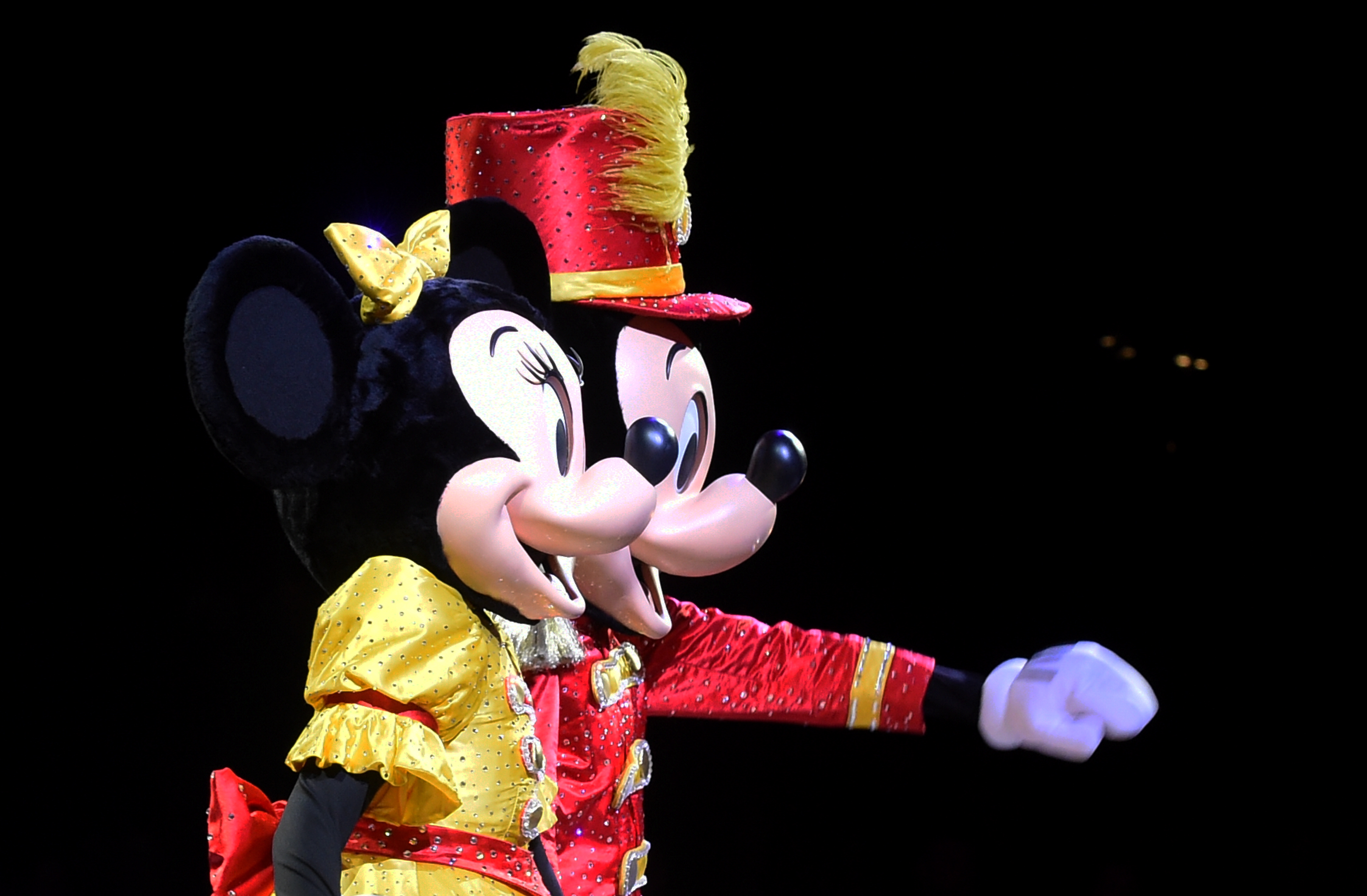 CR0014989 Disney On Ice Celebrates 100 Years of Magic at PJ Live, Dyce, Aberdeen.  Picture by Jim Irvine  31-10-19