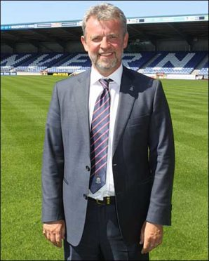 Caley Thistle chairman Ross Morrison.