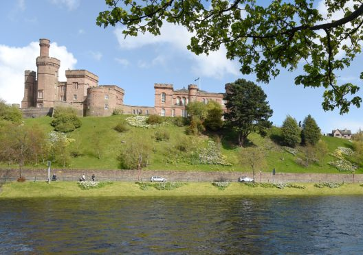 Inverness Castle. Picture by Sandy McCook