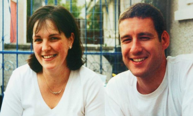 Alistair Wilson and his wife Veronica in happier times.