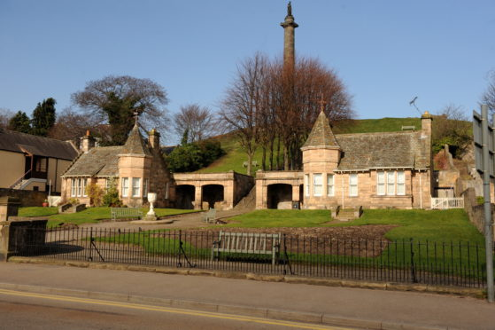 Sulva Cottage is at the foot of Ladyhill in Elgin.