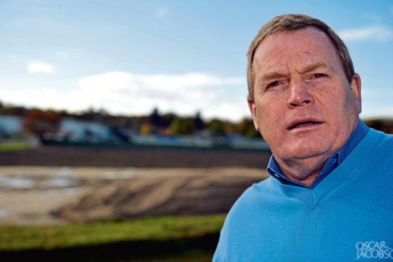 Elgin City chairman Graham Tatters.