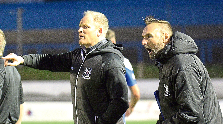 Elgin manager Gavin Price.