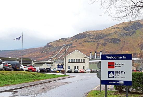 Fort William aluminium smelter