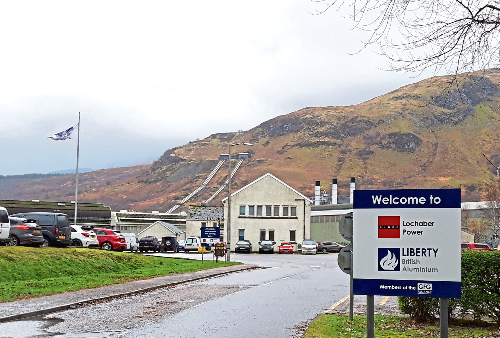 Fort William aluminium smelter