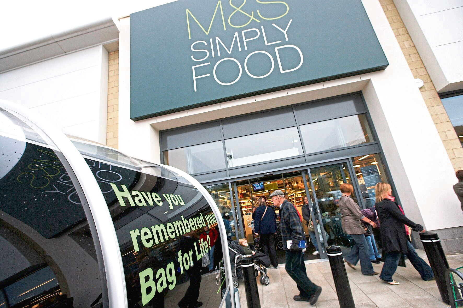 M&S Simply Food store (handout pic)    Marks & Spencer