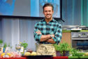 Taste of Grampian 2019 at the Thainstone Centre, Inverurie. Picture of Spencer Matthews (pictured) and John Torode demonstration  Picture by KENNY ELRICK     01/06/2019