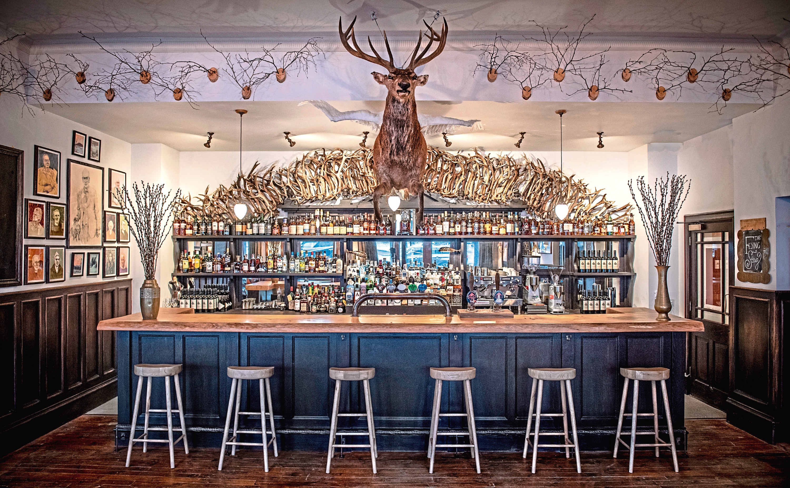 The Fife Arms, Braemar - The Flying Stag Public Bar