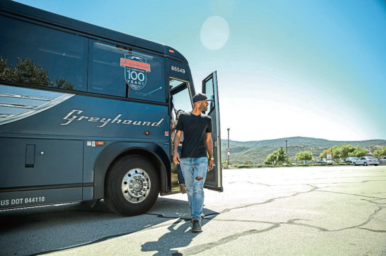 Aberdeen-based FirstGroup is trying to offload its North American Greyhound intercity coach business
