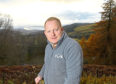 Gordon Pearson of tour company Wow Scotland Tours Ltd. Picture by Sandy McCook