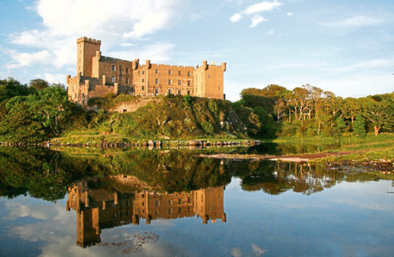Dunvegan Castle on the MacLeod Estate.