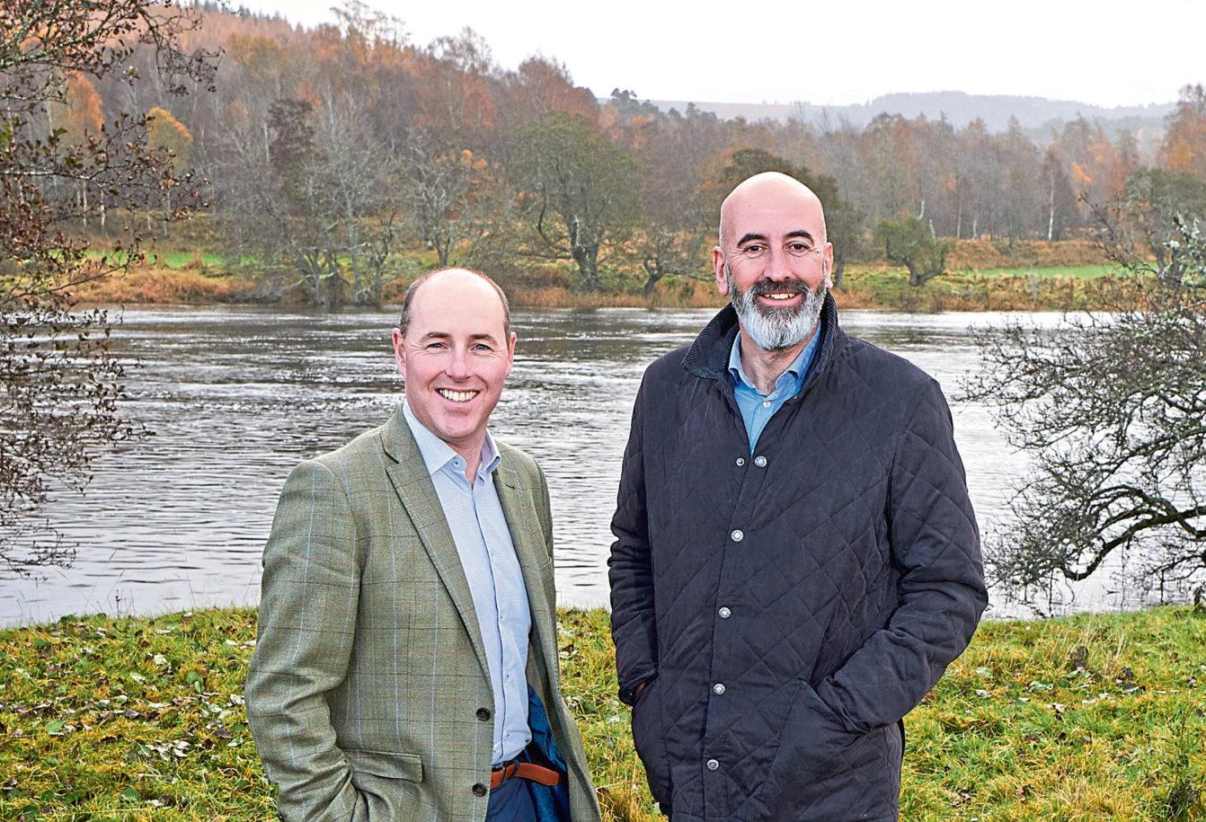Stephen Rankin, Gordon & MacPhail director of prestige (left) and Ewen Mackintosh, Gordon & MacPhail managing director (right).