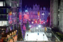 Last year's Aberdeen's Christmas Village on Broad Street   Picture by Kenny Elrick