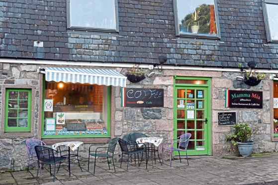 Mamma Mia, Dee Street, Banchory.  Picture by KENNY ELRICK