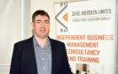CR0016660 Small business focus on David Rusling, managing director of consultancy and advisory service QHSE Aberdeen Ltd.   Picture by Paul Glendell    21/11/2019