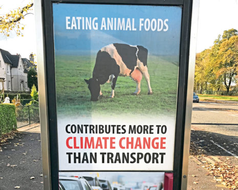 One of the adverts NFU Scotland complained to ASA about.