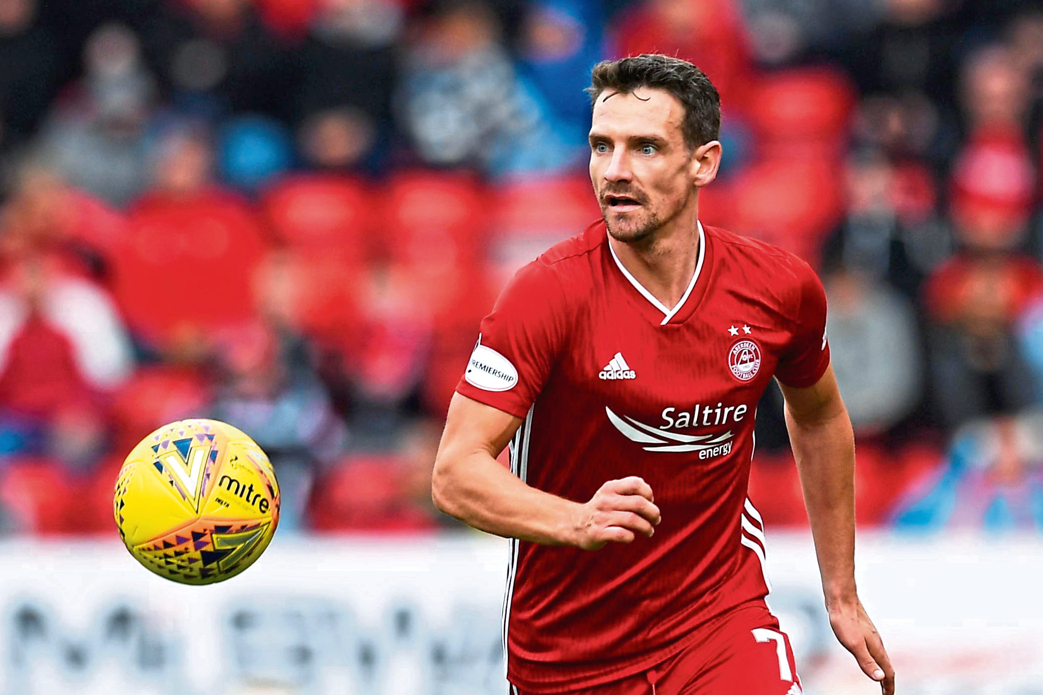 Craig Bryson in action for Aberdeen