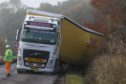 The A82 remained closed for more than four hours after the HGV came off the road near Dochgarroch yesterday morning.