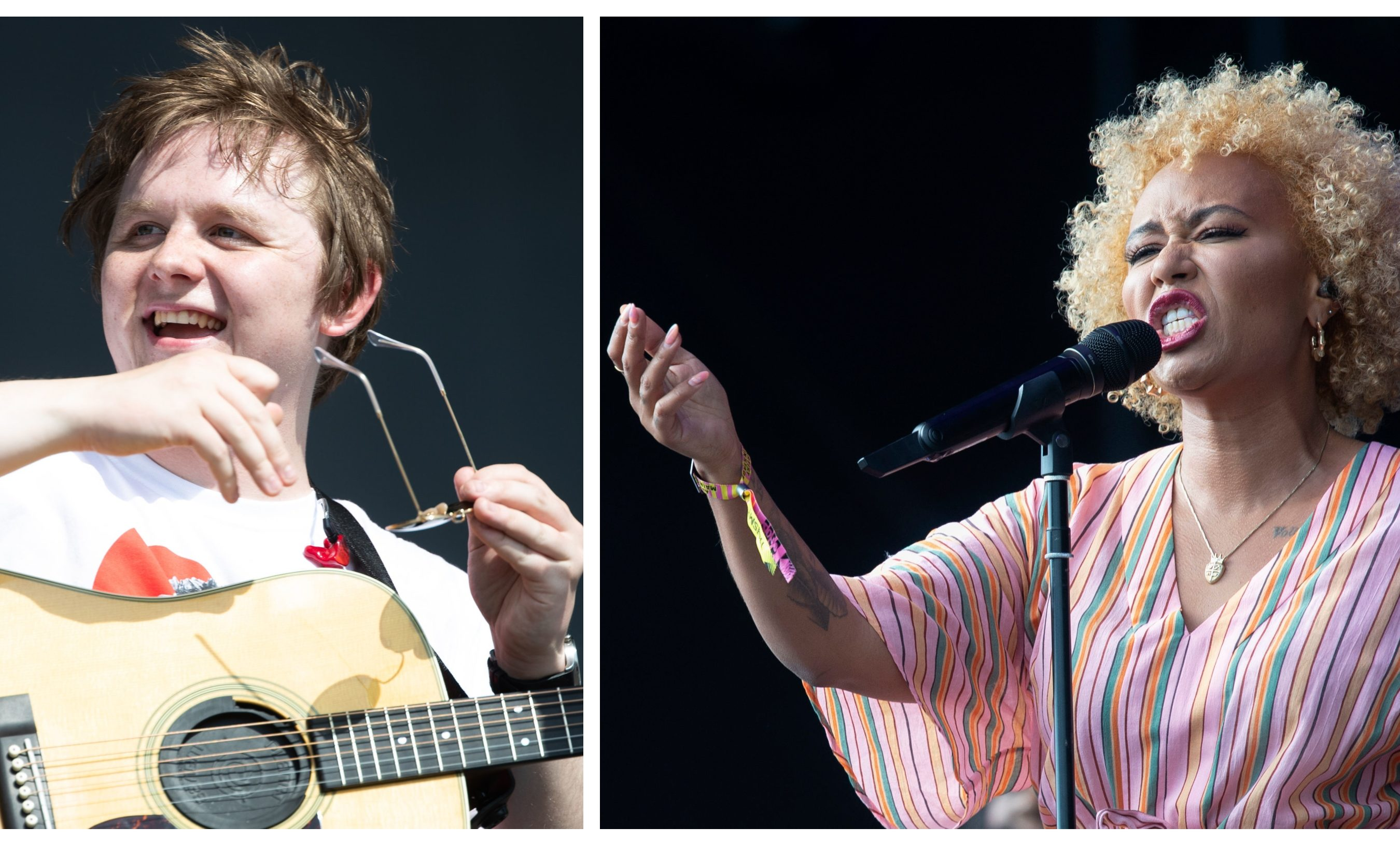 Lewis Capaldi and Emeli Sande are to perform at the P&J Live.