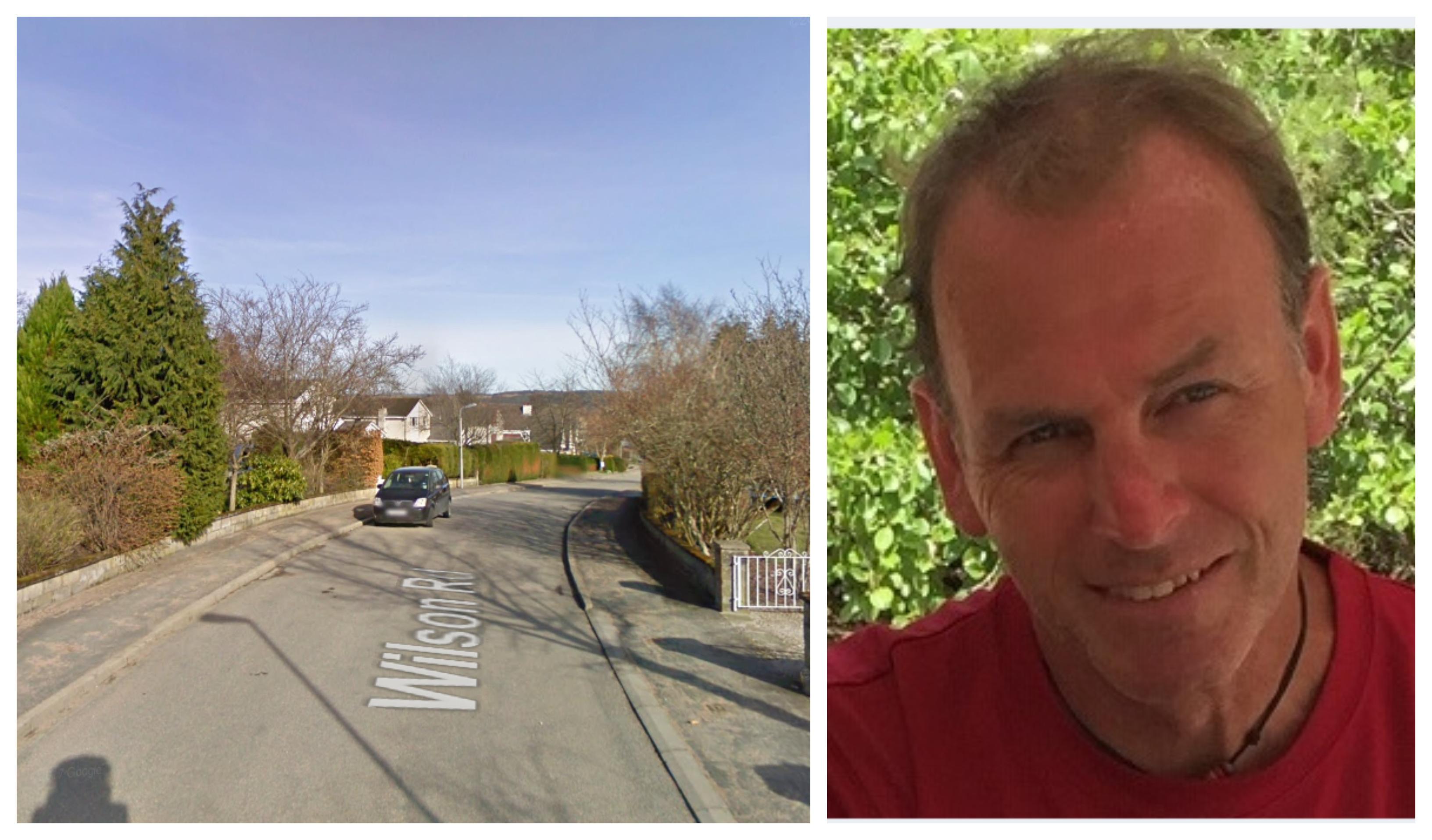 David Murray Strachan was last seen on Wilson Road in Banchory.