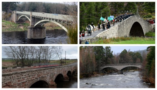 Bridges in Aberdeenshire