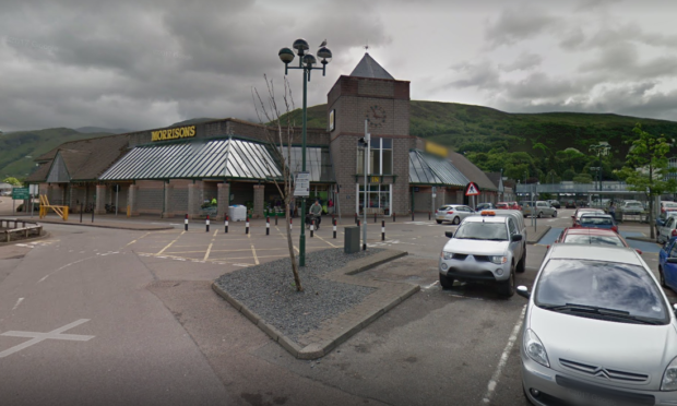 Morrisons in Fort William