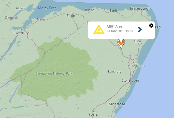 The north-east is without power in places.