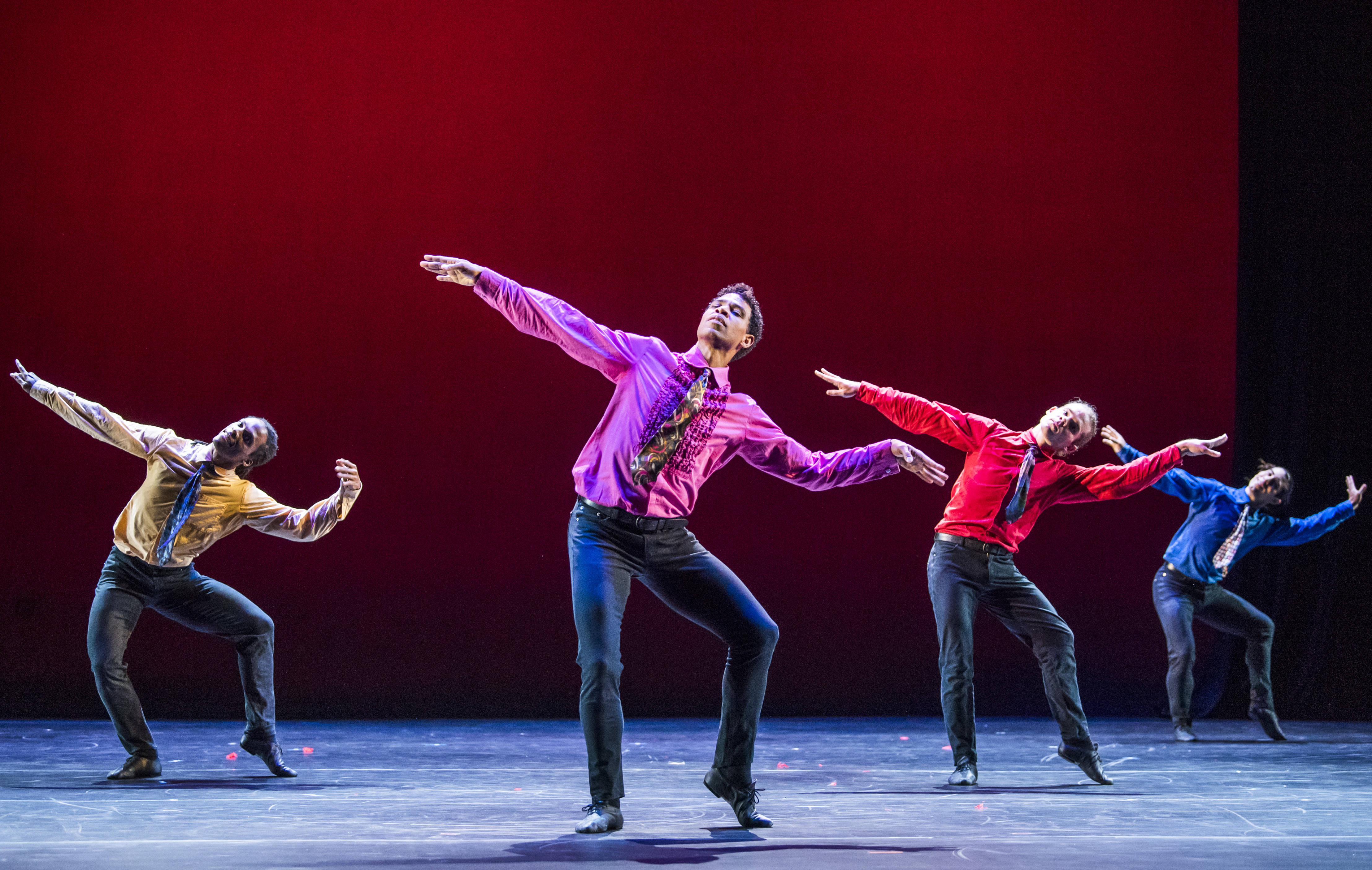 Carlos Acosta and Acosta Danza  in Rooster by Christopher Bruce part of Carlos Acosta-A Celebration-Royal Albert Hall.