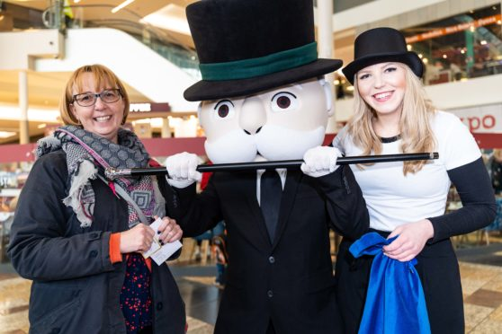 Celine MacConnell meets Mr Monopoly