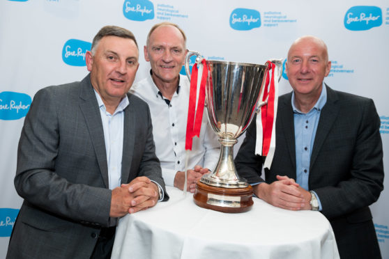 Sue Ryder Gothenburg Greats Football Dinner at Marcliffe Hotel.