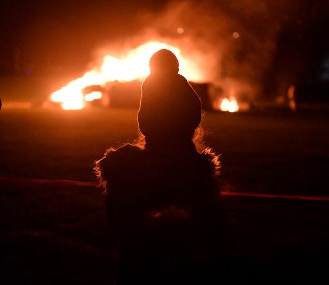 Stonehaven bonfire and fireworks