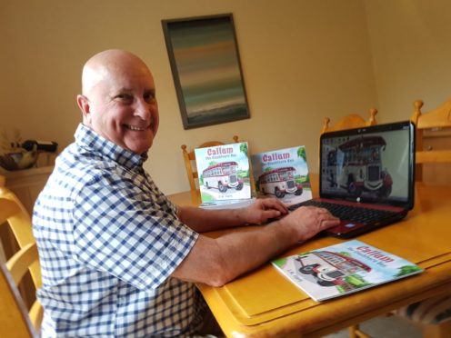 Author Euan Mushet has published his first book about a Highland bus.