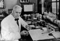 Sir Alexander Fleming, (6 August 1881 - 11 March 1955) was a Scottish biologist, pharmacologist and botanist who discovered Penicillin. (Photo by Universal History Archive/Universal Images Group via Getty Images)