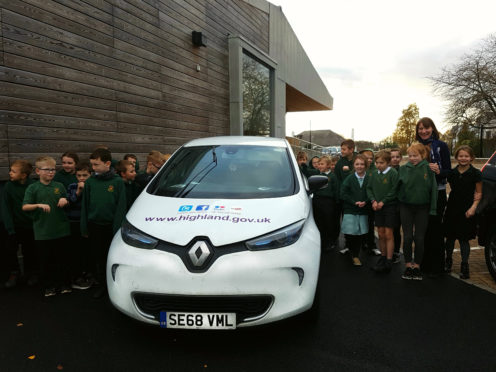 The Highland Council has launched a competition to encourage school children to get involved in helping moving towards a lower carbon source of travel