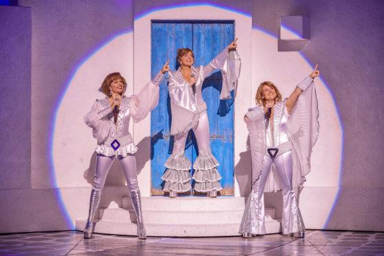 Sharon Sexton, Helen Anker and Nicky Swift in Mamma Mia!