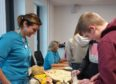 NHS Orkney hosted the day in a life event to allow school pupils further information on prospective careers