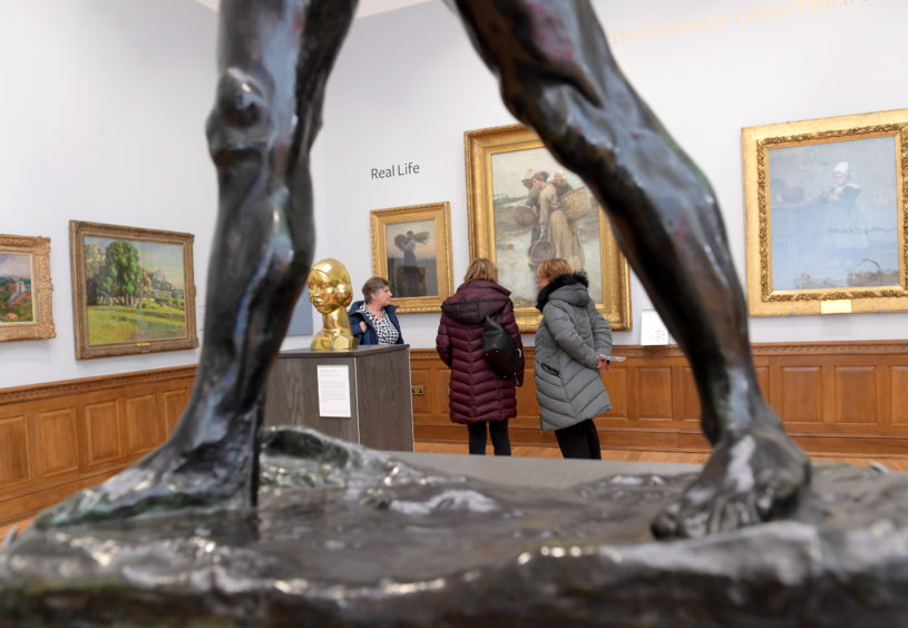 Aberdeen Art Gallery Opening Day. Picture by Kath Flannery