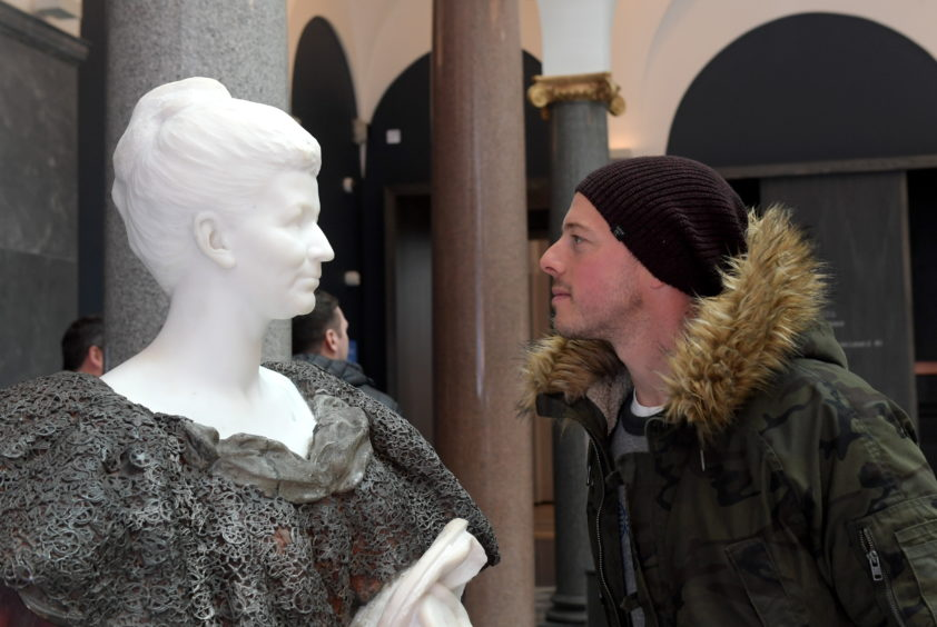 Aberdeen Art Gallery Opening Day
