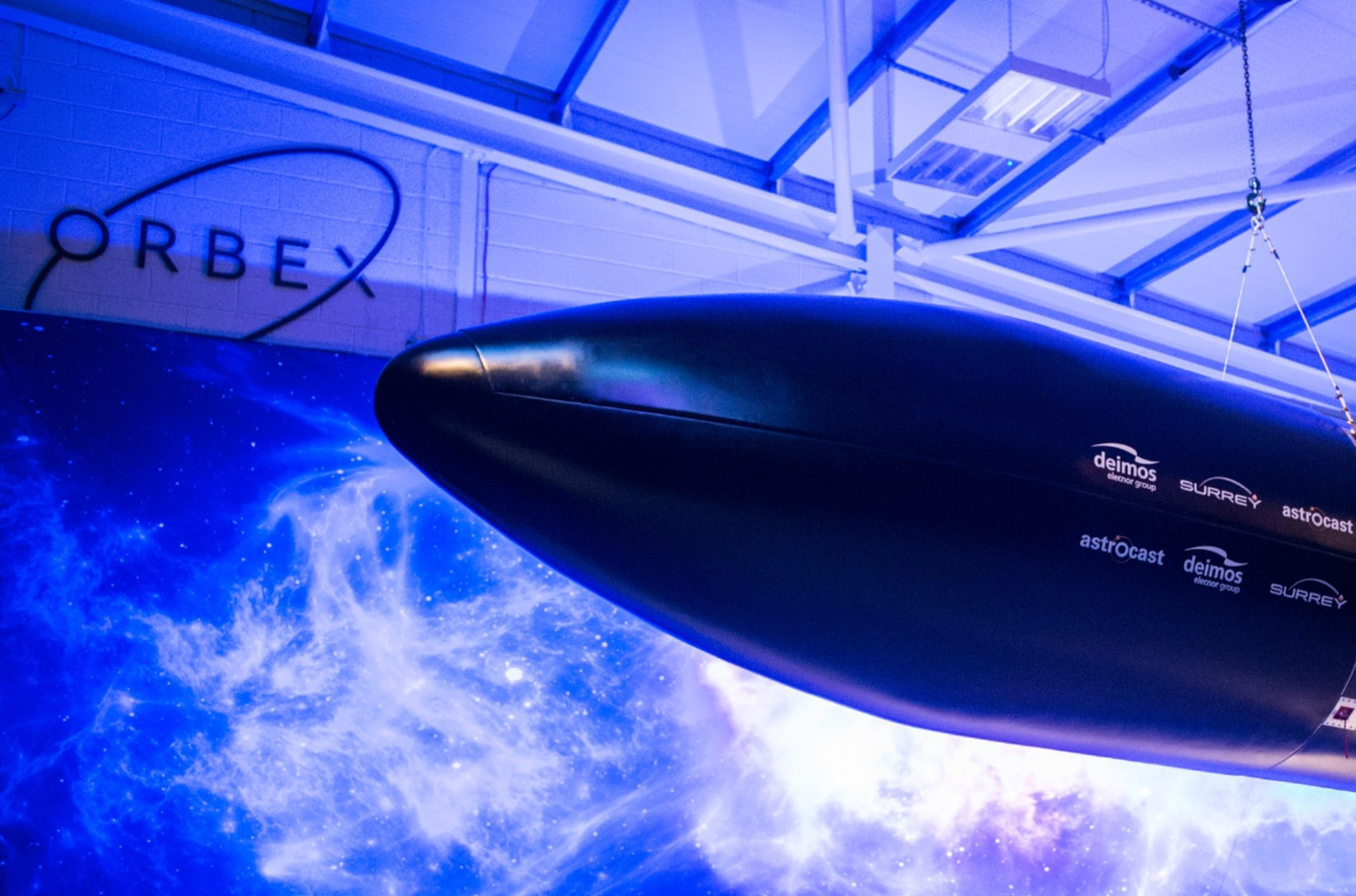 Orbex in Forres, Moray unveil Prime Rocket at New Facility.  Picture by Jason Hedges
