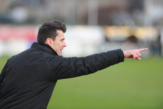 Brora Rangers boss Steven Mackay.